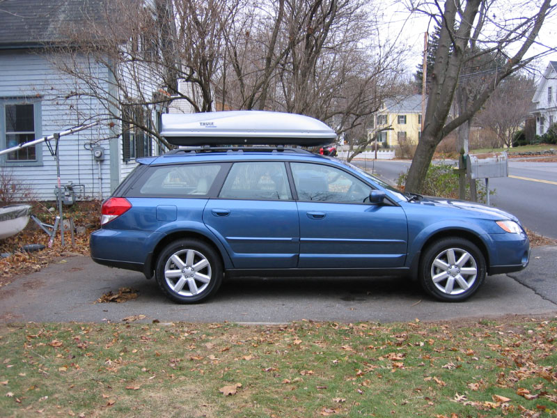 Thule Evolution 1600 >> Rooftop Cargo Carrier Page 2 Subaru Legacy Forums