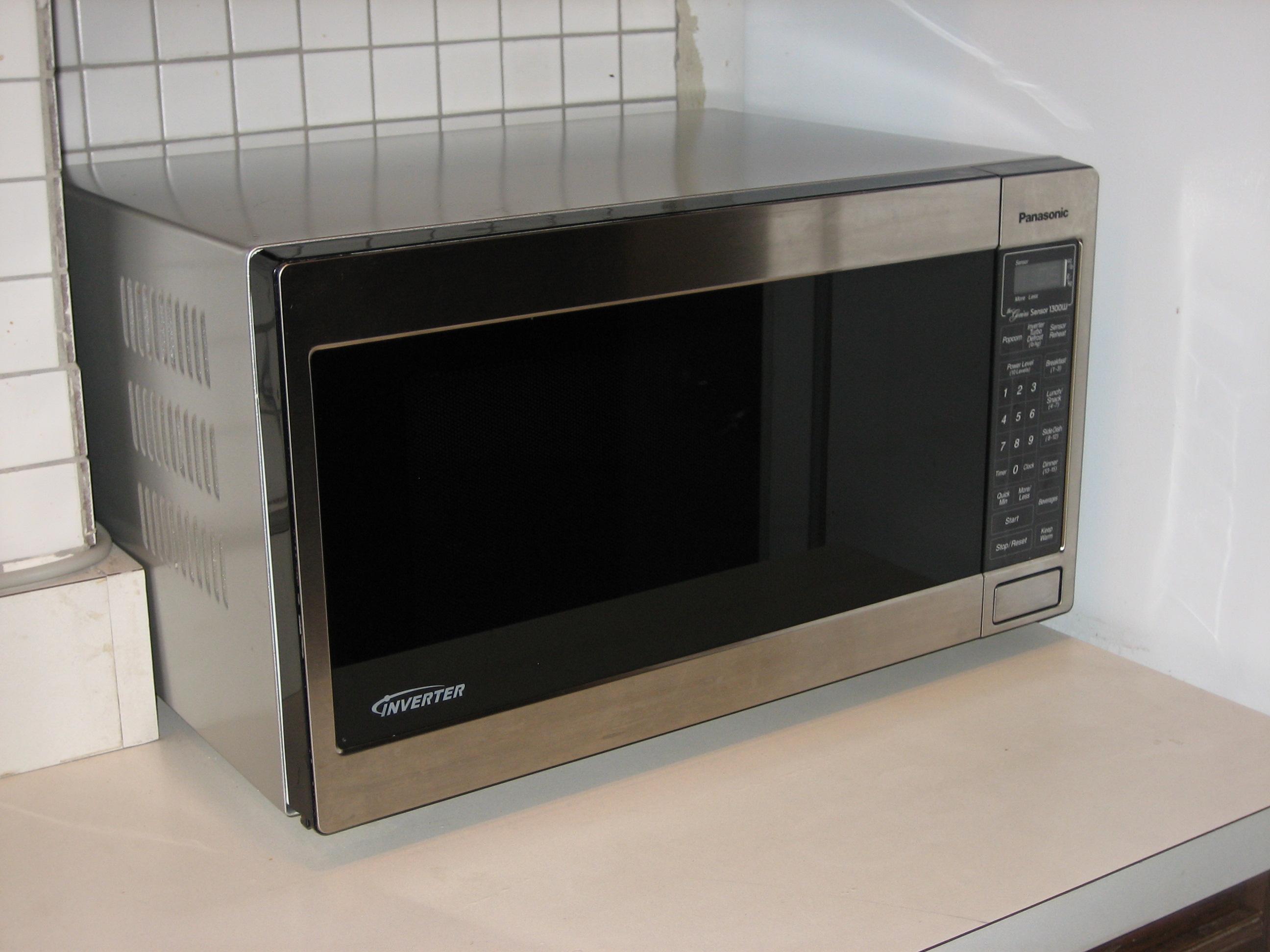 photo - Panasonic Microwave Inverter