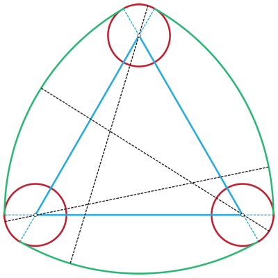 Smooth Reuleaux Triangle