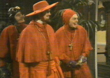 It s the Spanish Inquisition