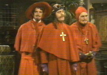 The Spanish Inquisition in the