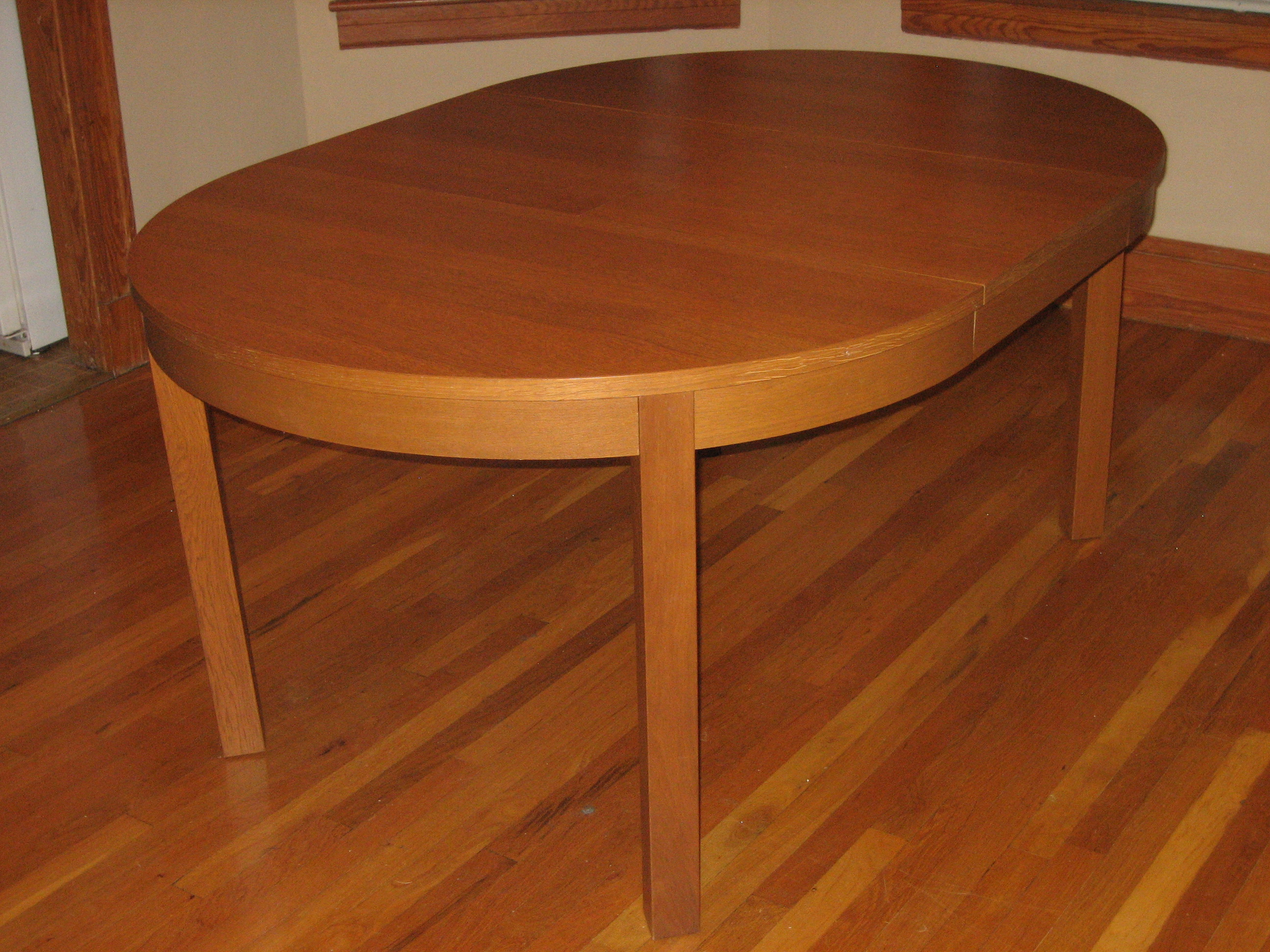 Ikea Bjursta Extendable Dining Table 100 And Sideboard 150
