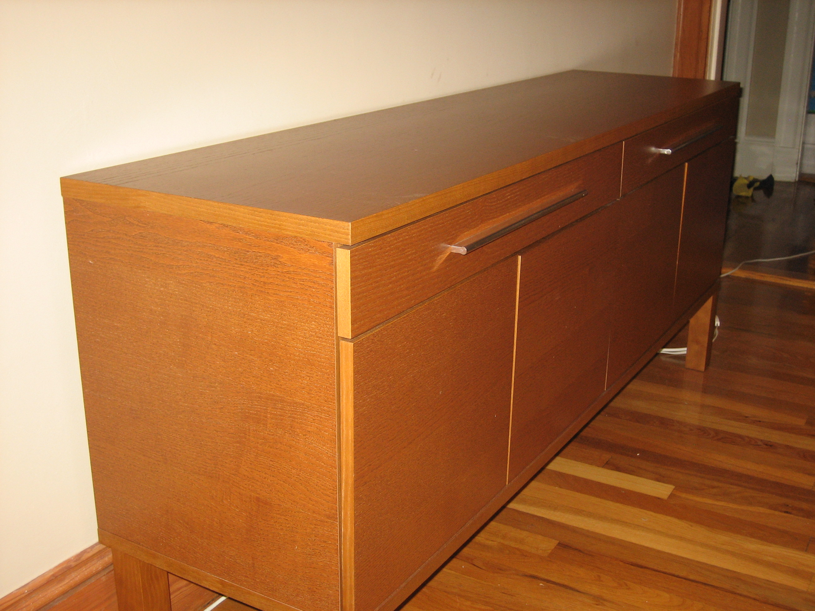 Ikea Bjursta Dining Table And Sideboard
