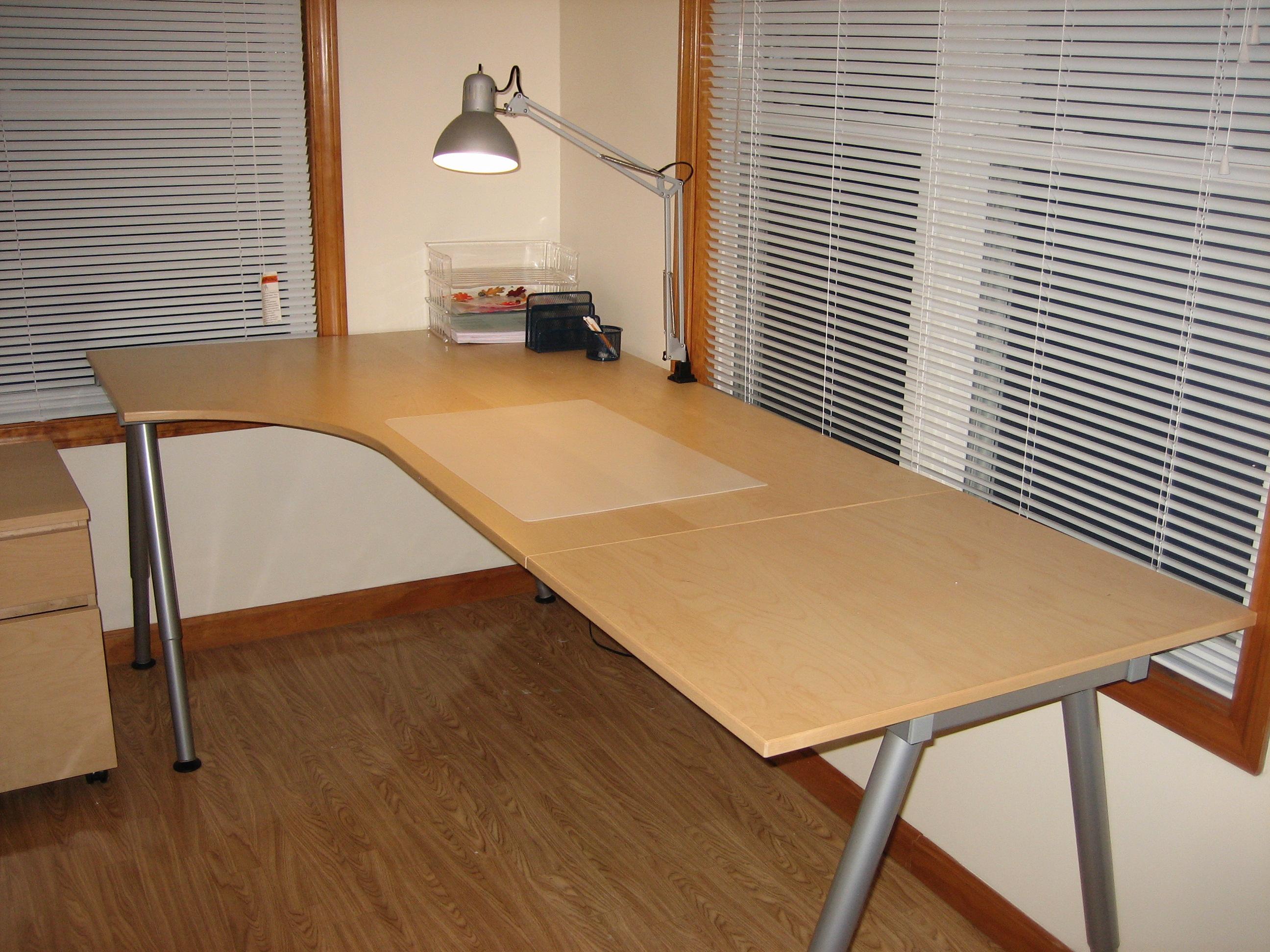 ikea galant workstation series. Black Bedroom Furniture Sets. Home Design Ideas