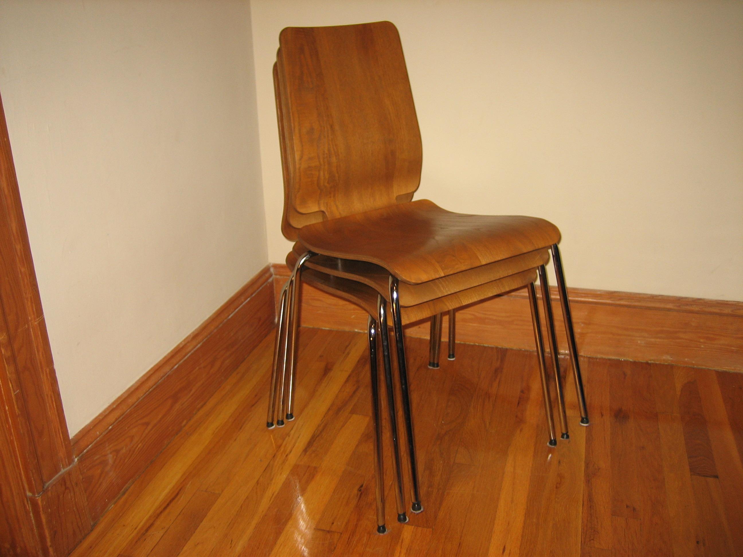 6 Ikea Gilbert Chairs