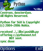 Python for s60 smartphones postpc workshop fall 2006 amnon dekel.