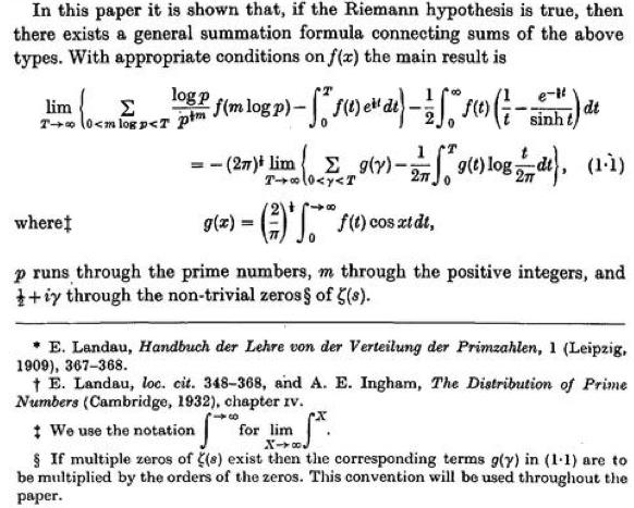 Riemann Sum Formula