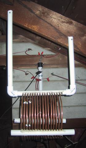 80/40 Meter Attic Antena